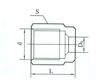YZG2-24外套螺母