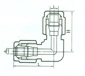 YZG2-20弯通中间接头