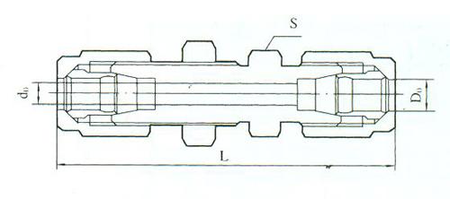 YZG2-16直通中间接头