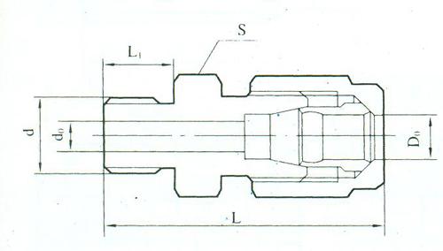 YZG2-15直通终端接头