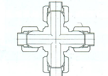 YZG4-18四通中间接头