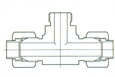 YZG4-12三通终端接头