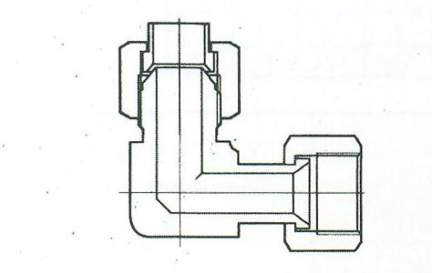 YZG4-10组合弯通接头