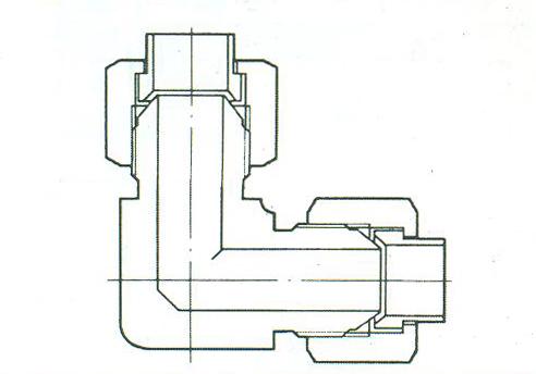 YZG4-9弯通中间接头