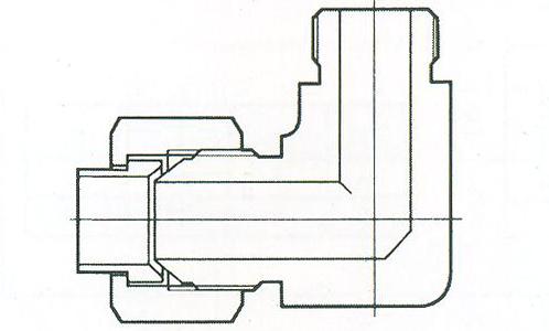YZG4-7弯通终端接头