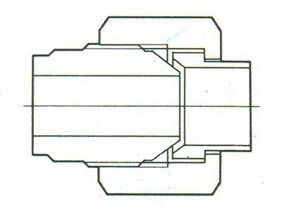 YZG4-5焊接管接头