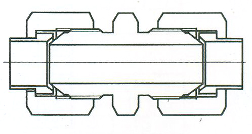 YZG4-3直通中间接头