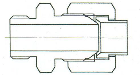 YZG4-1直通终端接头