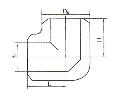 YZG5-28弯通焊接接管