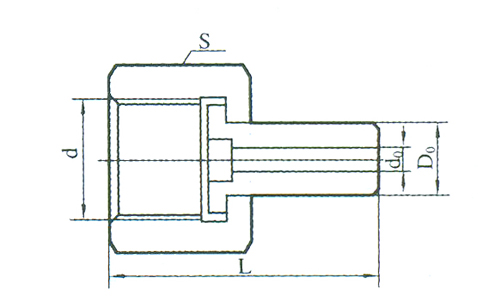 YZG5-20压力表直通接头