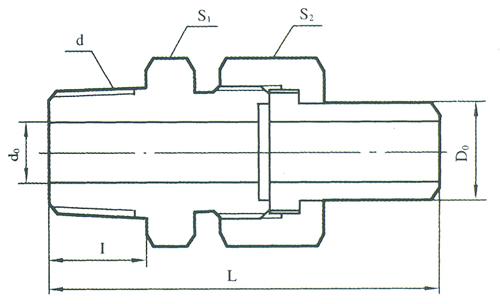 YZG5-17直通终端锥管接头