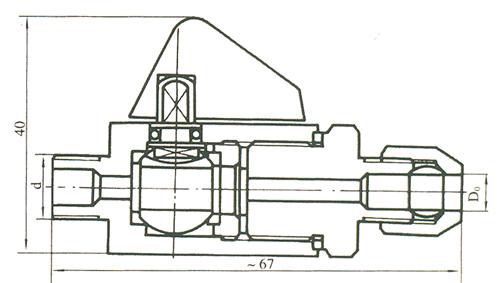 气动管路球阀