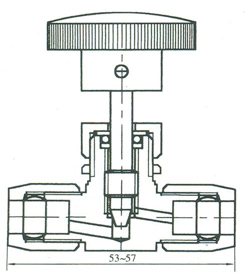 气动管路截止阀