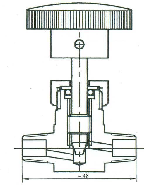 外螺纹针型阀