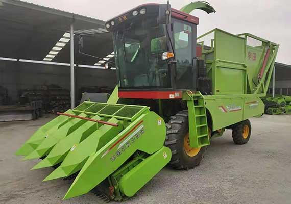 穗茎兼收玉米收获机