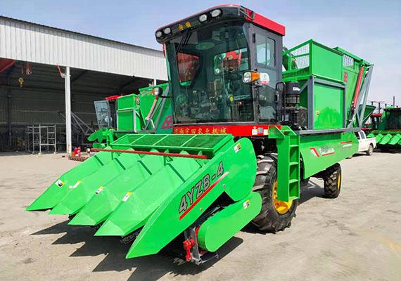 2013新款玉米秸秆收获机