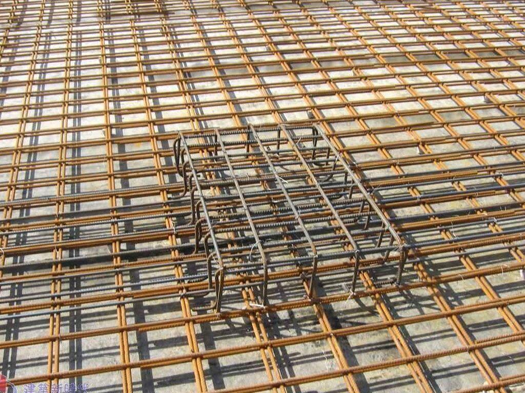 工地钢筋网