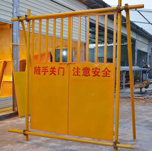 郑州施工电梯防护门厂家