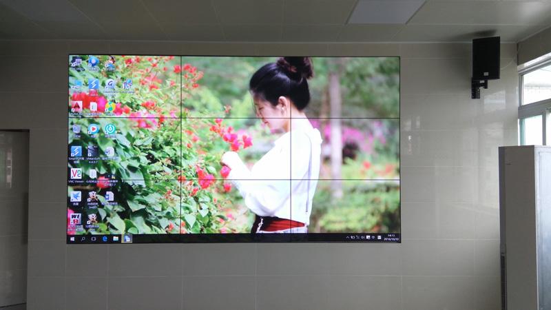四川省某国安局LCD拼接屏
