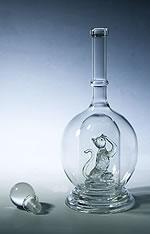 十二生肖猴工艺酒瓶