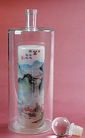 内画山水工艺酒瓶