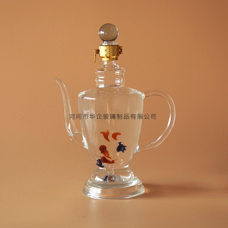 玻璃工艺酒瓶新品