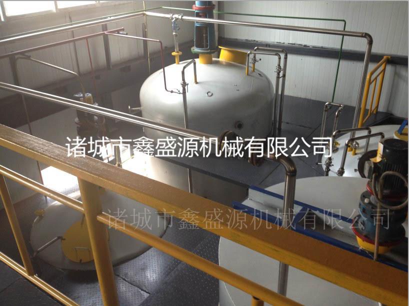 食品厂立式加温保温油罐