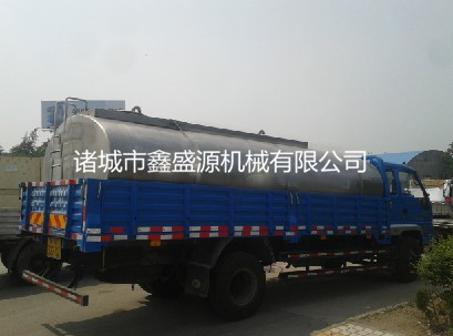 不锈钢乳制品运输罐