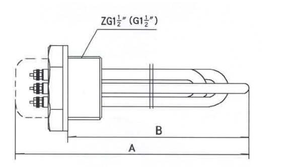 GYSG6-2型电锅炉用电热管