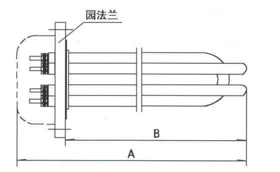 GYSG6型电锅炉用电热管