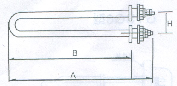 GYS4型电锅炉用电热管