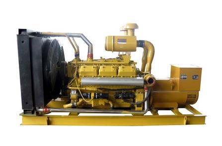 上柴股份350KW发电机