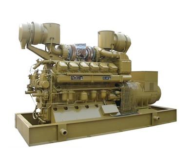 山东济柴900KW发电机组