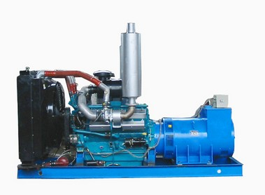 上海帕欧550KW发电机组