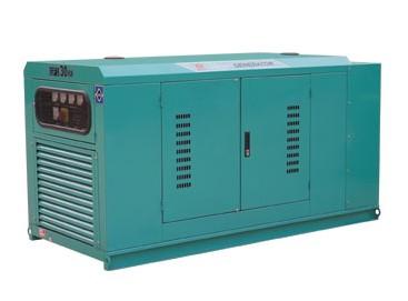 75KW-100KW固定式低噪音柴油发电机组