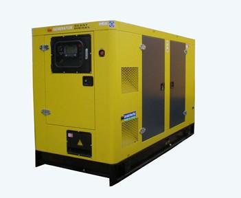 100KW-150KW固定式低噪音柴油发电机组