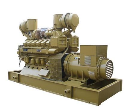 济柴800KW发电机组