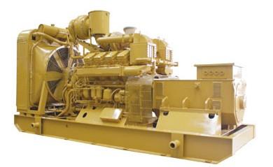 山东济柴1200KW发电机组
