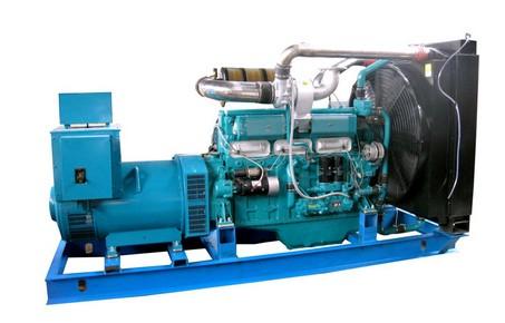 上海帕欧300KW发电机组