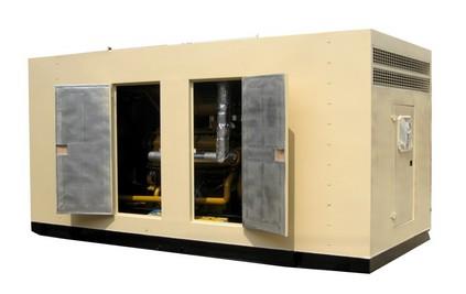 500KW低噪音柴油发电机组