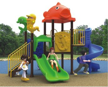 幼儿园滑梯组合