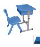 单人单层升降课座椅