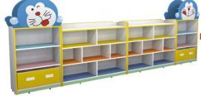 哆啦A梦造型玩具柜
