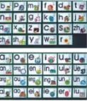 幼儿拼音磁性教具