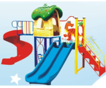幼儿园户外滑梯