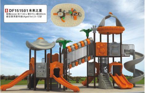 幼儿园工程塑料滑梯