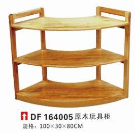 原木玩具櫃