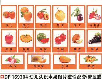 幼儿园认识水果图�? width=