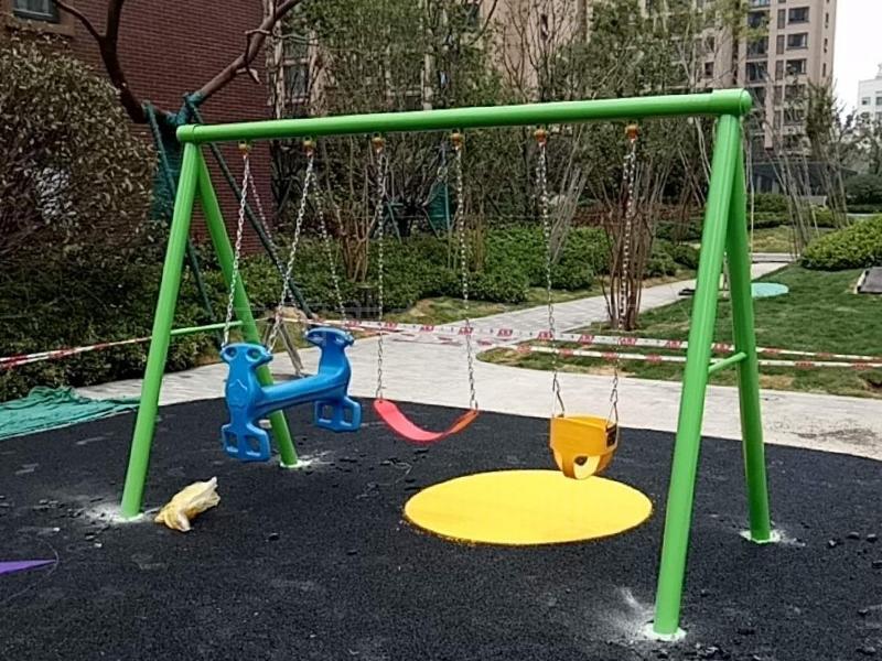 小区儿童滑梯玩具秋千架