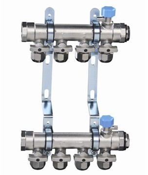 PERT地暖管-A3球阀锻造分集水器
